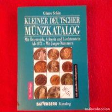 Catálogos y Libros de Monedas: CATALOGO DE MONEDA ALEMANA, BIEN CONSERVADO.. Lote 99059911