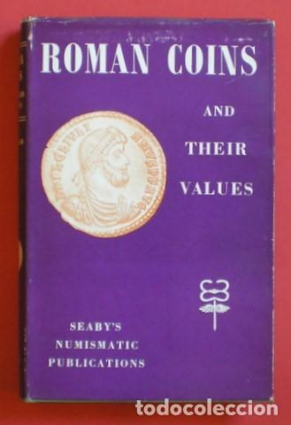 Catálogos y Libros de Monedas: SEAR, DAVID R: ROMAN COINS AND THEIR VALUES. 1964 - Foto 3 - 99075395