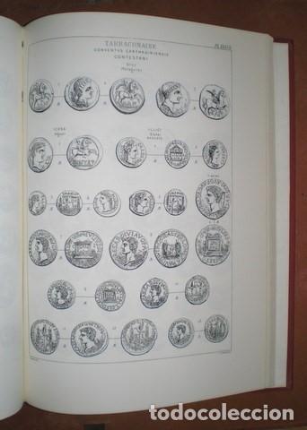 Catálogos y Libros de Monedas: Heiss, Aloiss : Description générale des monnaies antiques de l`Espagne. Monedas antiguas de España - Foto 3 - 99725703