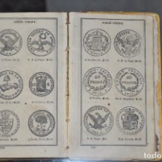 Catálogos y Libros de Monedas: LEARY´S RECKONER AND COIN BOOK CONTAINING SPECIMENS OF TWO HUNDRED AND FORTY FOUR , 1860. Lote 100242071