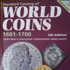 Catálogos y Libros de Monedas: WORD COINS. 1601-1700. SIN USAR. TIENDA.. Lote 100714255