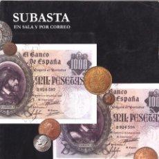 Catálogos y Libros de Monedas: CATALOGO SUBASTA PLIEGO MARZO 2011. Lote 101539707