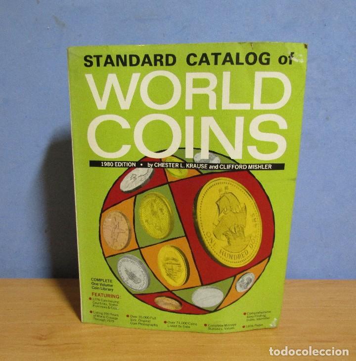 WORLD COINS EDITION 1980 -STANDARD CATALOG- 1856 PAGINAS EN BUEN ESTADO (Numismática - Catálogos y Libros)