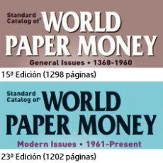 Catálogos y Libros de Monedas: CATALOGO MUNDIAL DE BILLETES KRAUSE EN DVD. Lote 188578245