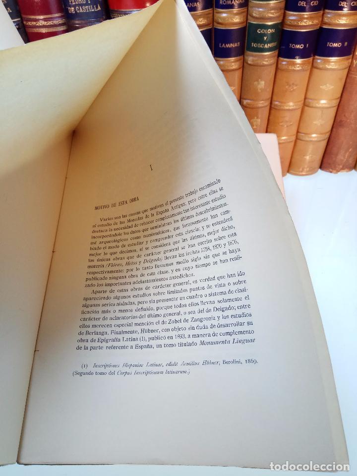 Catálogos y Libros de Monedas: LA MONEDA HISPÁNICA - ANTONIO VIVES Y ESCUDERO - REAL ACADEMIA DE LA HISTORIA - MADRID - 1926 - INTO - Foto 2 - 105607547