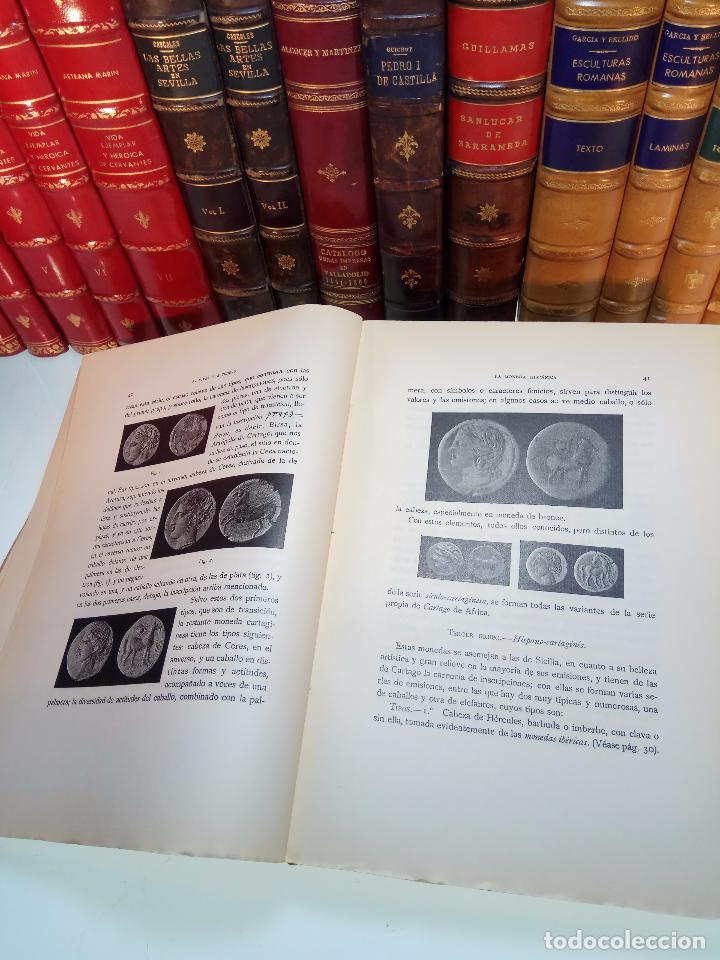 Catálogos y Libros de Monedas: LA MONEDA HISPÁNICA - ANTONIO VIVES Y ESCUDERO - REAL ACADEMIA DE LA HISTORIA - MADRID - 1926 - INTO - Foto 4 - 105607547