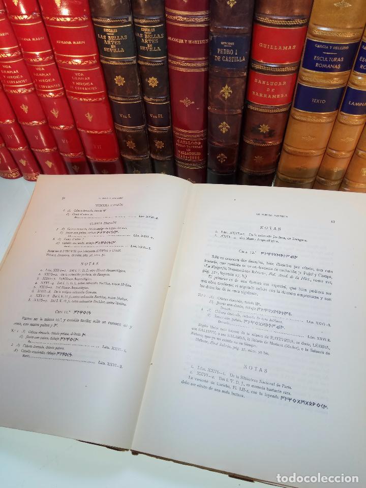 Catálogos y Libros de Monedas: LA MONEDA HISPÁNICA - ANTONIO VIVES Y ESCUDERO - REAL ACADEMIA DE LA HISTORIA - MADRID - 1926 - INTO - Foto 6 - 105607547