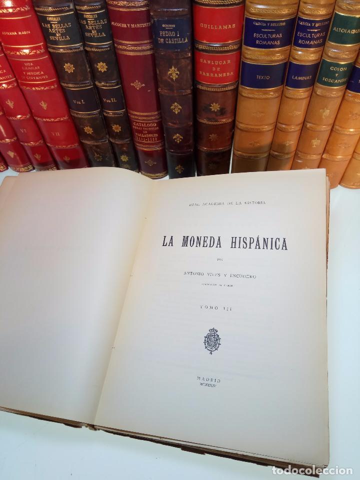 Catálogos y Libros de Monedas: LA MONEDA HISPÁNICA - ANTONIO VIVES Y ESCUDERO - REAL ACADEMIA DE LA HISTORIA - MADRID - 1926 - INTO - Foto 7 - 105607547