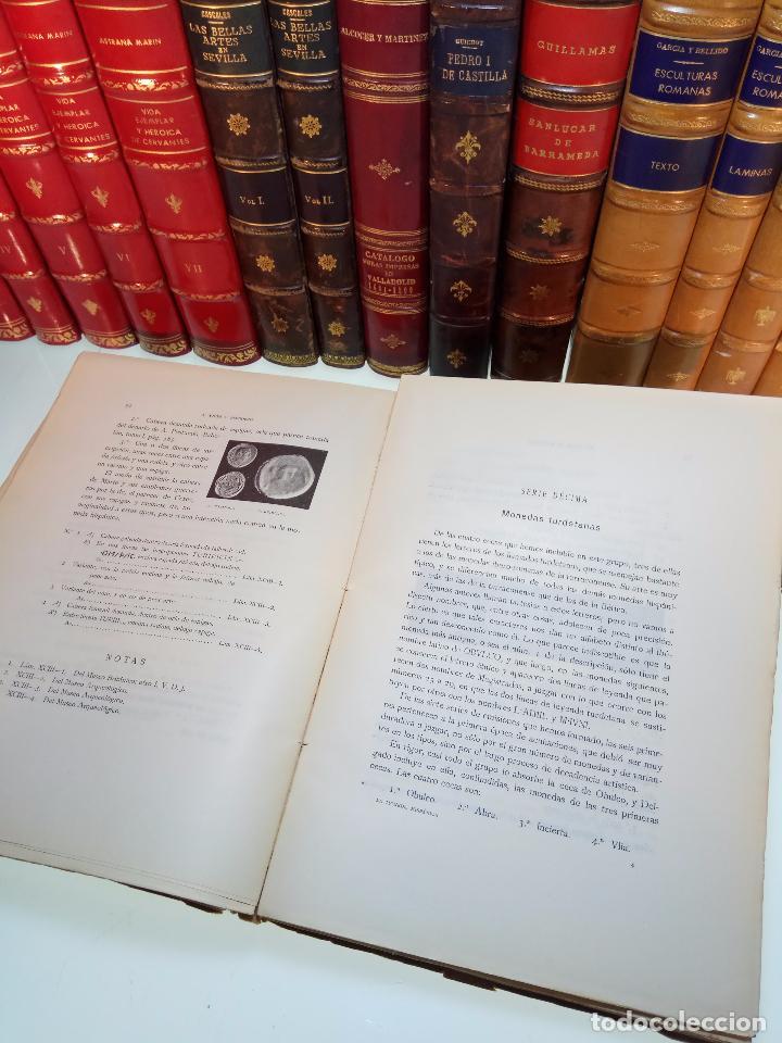 Catálogos y Libros de Monedas: LA MONEDA HISPÁNICA - ANTONIO VIVES Y ESCUDERO - REAL ACADEMIA DE LA HISTORIA - MADRID - 1926 - INTO - Foto 8 - 105607547
