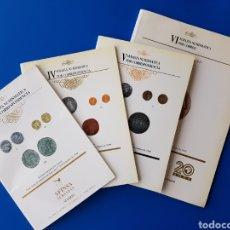 Catálogos y Libros de Monedas: LOTE CATÁLOGOS NUMISMÁTICOS AFINSA III, IV, V Y VI - NUMISMÁTICO CATÁLOGO SUBASTA SUBASTAS. Lote 105688770