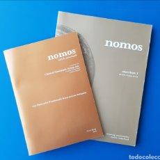 Catálogos y Libros de Monedas: LOTE CATÁLOGOS NUMISMÁTICOS NOMOS AUCTION I & INVIERNO-PRIMAVERA 2009 - NUMISMÁTICO CATÁLOGO. Lote 105689092