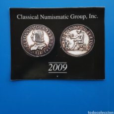 Catálogos y Libros de Monedas: CALENDARIO 2009 CATÁLOGO NUMISMÁTICO CNG CLASSICAL NUMISMATIC GROUP - NUMISMÁTICA. Lote 105690062