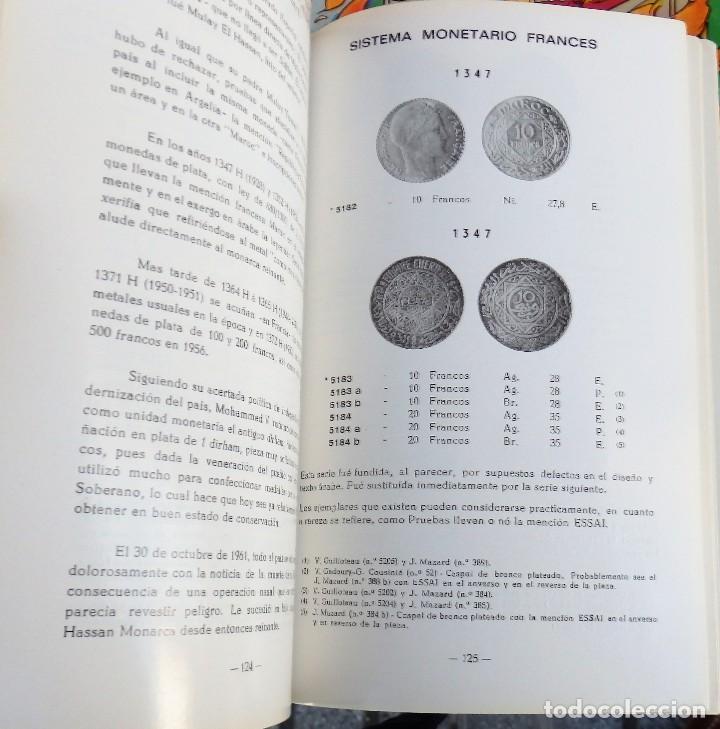 Catálogos y Libros de Monedas: Monedas de Marruecos, Dinastía Alauita, tomo I, la moneda moderna, 1879-1980 - Foto 2 - 107133043