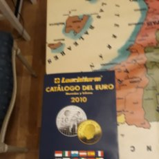 Catálogos y Libros de Monedas: CATÁLOGO DEL EURO 2010. Lote 108399822