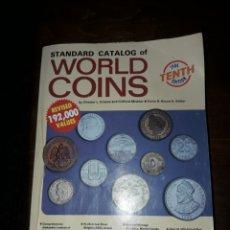 Catálogos y Libros de Monedas: CATALOGO DE MONEDAS. Lote 109772483