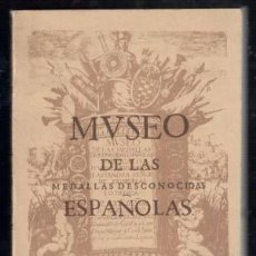 Catálogos y Libros de Monedas: LASTANOSA: MUSEO DE LAS MEDALLAS DESCONOCIDAS ESPAÑOLAS. ED. FACSÍMIL DE LA DE HUESCA 1645. . Lote 109919419