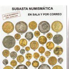 Catálogos y Libros de Monedas: CATALOSO DE SUBASTAS AUREO Y CALICO- 18 Y 19 DE OCTUBRE DE 2017. Lote 110772659