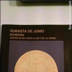 Catálogos y Libros de Monedas: CATÁLOGO SUBASTAS SEGRE MONEDAS JUNIO 2006. Lote 110814743