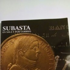 Catálogos y Libros de Monedas: CATÁLOGO SUBASTA PLIEGO 23 DE NOVIEMBRE 2006. Lote 110811339