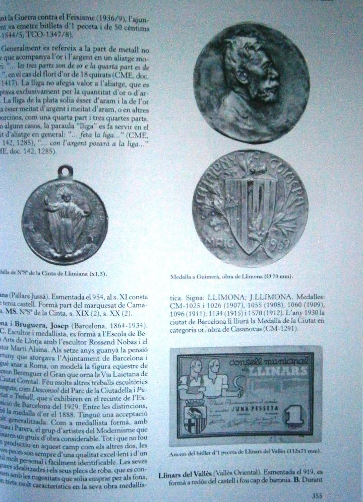 Catálogos y Libros de Monedas: Glosario Catala de Numismatica M.Crusafont i Sabater - Foto 3 - 110434955