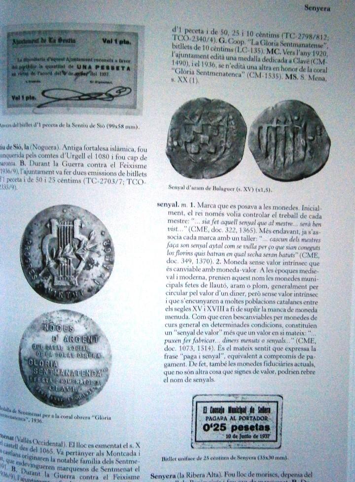 Catálogos y Libros de Monedas: Glosario Catala de Numismatica M.Crusafont i Sabater - Foto 4 - 110434955