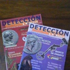 Catálogos y Libros de Monedas: DETECCIÓN Y MONEDAS. NÚMERO 1 Y 2.. Lote 111110063