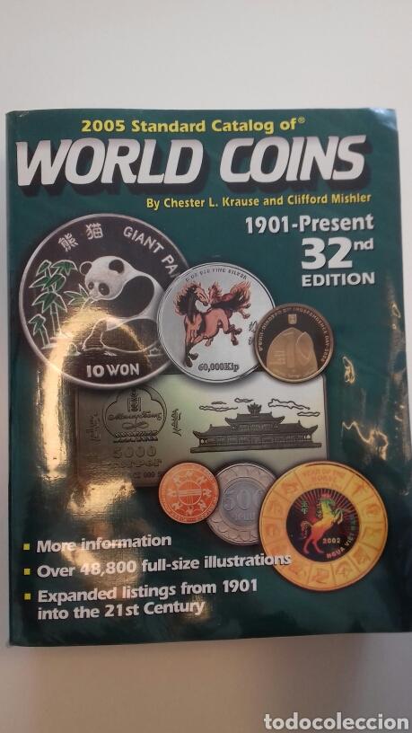 CATALOGO WORLD COINS 2005 STANDARD CATALOG OF 1901-PRESENT 32ND EDITION