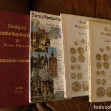 Catálogos y Libros de Monedas: TRES OBRAS NUMISMATICAS,ALEJANDRO SAEZ JIMENEZ,NUMISMATICA GEOGRAFICA E HISTORICA,2 VOL.1973,..N0013. Lote 111879559