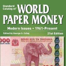 Catálogos y Libros de Monedas: CATÁLOGO DE BILLETES DEL MUNDO 1961-2014 · 2015 CATALOG OF WORLD PAPER MONEY 1961- PRESENT. Lote 113346923