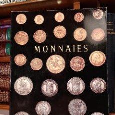 Catálogos y Libros de Monedas: COLLECTONS DE MONNAIES. MONNAIES EN OR. LOUIS XIV, 1643-1715. MONNAIES EN ARGENT-ARGENT BAS-TITRE.... Lote 114372967