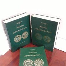 Catálogos y Libros de Monedas: MONEDAS HISPANO-CRISTIANAS.ALOISS HEISS. 3 TOMOS. Lote 114701447