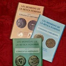Catálogos y Libros de Monedas: LAS MONEDAS DE LA BETICA ROMANA. Lote 115587303