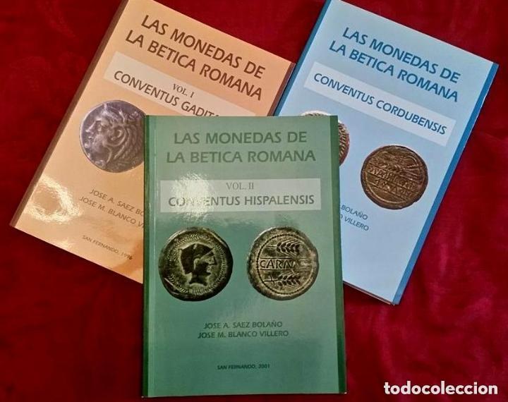 Catálogos y Libros de Monedas: LAS MONEDAS DE LA BETICA ROMANA - Foto 5 - 194755992