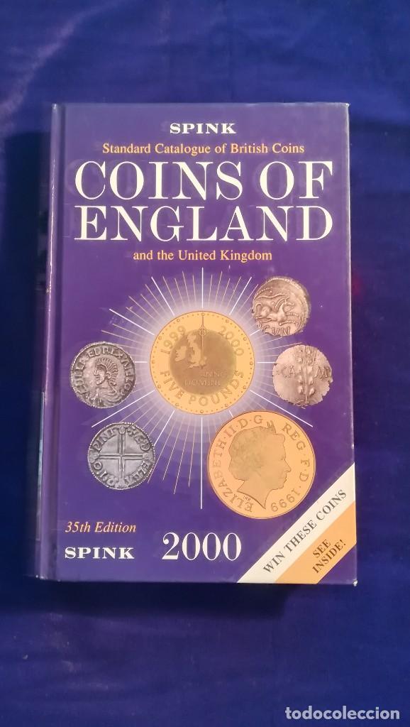 CATALOGO COINS OF ENGLAND, 2000 (Numismática - Catálogos y Libros)