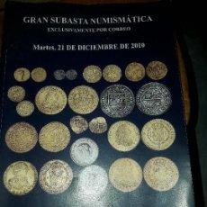 Catalogs and Coin Books - Gran subasta numismática 2010 catálogo monedas - 118314603