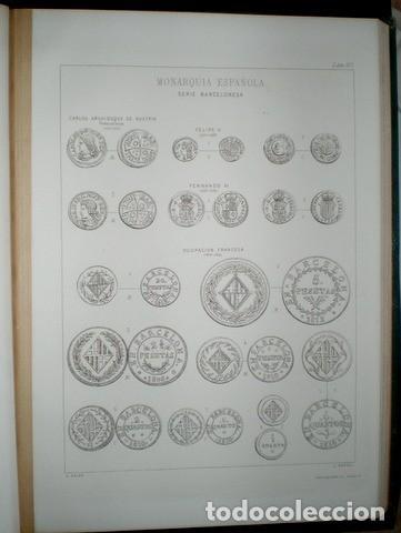 Catálogos y Libros de Monedas: ALOISS HEISS: DESCRIPCION GENERAL DE LAS MONEDAS HISPANO-CRISTIANAS DESDE LA INVASIÓN DE LOS ÁRABES - Foto 4 - 120049883
