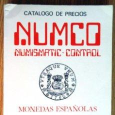 Catálogos y Libros de Monedas: NUMCO. MONEDAS ESPAÑOLAS DESDE EL AÑO 1700-1983. EDICIÓN 1983. Lote 121967531