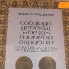 Catálogos y Libros de Monedas: CATALOGO MONEDAS LA PESETA 1975 VICENTI. Lote 122181418