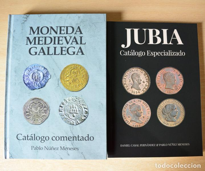 JUBIA CATÁLOGO ESPECIALIZADO Y MONEDA MEDIEVAL GALLEGA CATÁLOGO COMENTADO (Numismática - Catálogos y Libros)