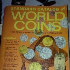 Catálogos y Libros de Monedas: CATALOGO DE MONEDAS 1979. Lote 123490095