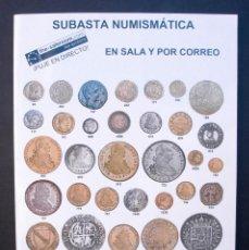 Catálogos y Libros de Monedas: A420.- SUBASTA NUMISMATICA.- 26 DE ABRIL DE 2012.- AUREO & CALICÓ. Lote 123544955