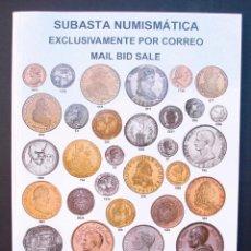 Catálogos y Libros de Monedas: A421.- SUBASTA NUMISMATICA.- 26 DE SEPTIEMBRE DE 2013.- AUREO & CALICÓ. Lote 123545279