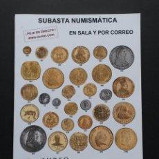 Catálogos y Libros de Monedas: A422.- SUBASTA NUMISMATICA.- 30 DE MAYO DE 2012.- AUREO & CALICÓ. Lote 123545659