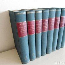 Catálogos y Libros de Monedas: DESCRIPTION HISTORIQUE DES MONNAIES SOUS L´EMPIRE ROMAIN - HENRY COHEN - 1955 - 8 TOMOS - NUEVO. Lote 124011631