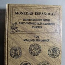 Catálogos y Libros de Monedas: MONEDAS ESPAÑOLAS / CAYON & CASTAN / 1991. Lote 124345571