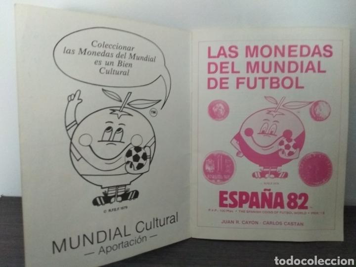 Catálogos y Libros de Monedas: Las monedas del Mundial de Fútbol España del 82 - Foto 4 - 126166320