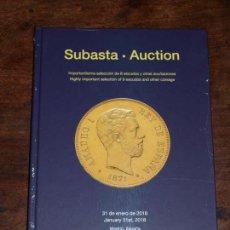 Catalogs and Coin Books - CATALOGO SUBASTA NUMISMATICA CAYON. IMPOTANTISIMA SELECCION DE 8 ESCUDOS Y OTRAS.31 ENERO 2018.FOTOS - 126382399