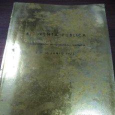 Catálogos y Libros de Monedas: CATALOGO 41ª VENTA PÚBLICA JUNIO 1973. JUAN R. CAYÓN. MONEDAS Y MEDALLAS.. Lote 127746747