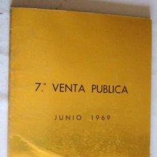 Catálogos y Libros de Monedas: CATALOGO DE SUBASTAS DE CAYON- 1969. Lote 128420919