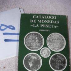 Catálogos y Libros de Monedas: CATALOGO DE MONEDAS - LA PESETA. Lote 129315531